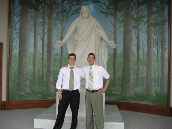 Zach DeRidder and Michael Hallstrom